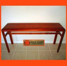 Excellent BRDR Furbo Teak Sofa/Entry Table