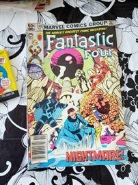 Lots of vintage older Marvel comics including fantastic 4!