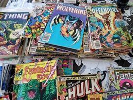 Large selection of Older Marvel comics
