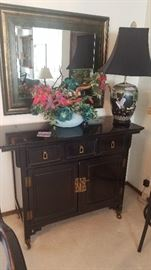 Thomasville Asian Ebony Sideboard, Beautiful !