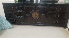 Century Asian Ebony Dresser