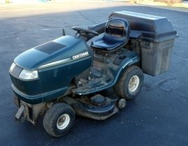 "Craftsman Riding Mower, Kohler 16.5HP OHV, 46"" Deck, Craftsman Grass Catcher Bag System, Mulch Attachment, Mower Cover, Manuals, Maintained and Runs"