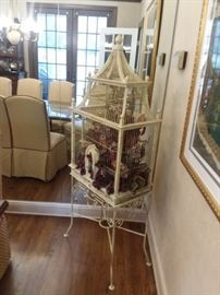 Vintage Bird Cage, they're not just for birds anymore!