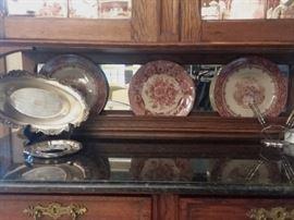 Platter and China