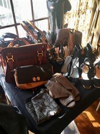 Designer Shoes and Handbags