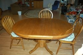Second view dining room table