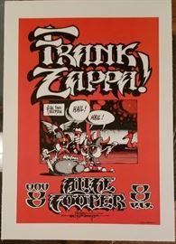 Frank Zappa and Alice Cooper @ Cal State Fullerton https://ctbids.com/#!/description/share/73898