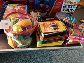 Assortment of kids games, books and more