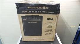 Acoustic B30 Bass Guitar Combo