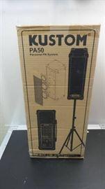 Kustom PA50 Personal PA speaker