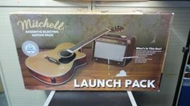 Mitchell AcousticElectric Guitar Launch Pack