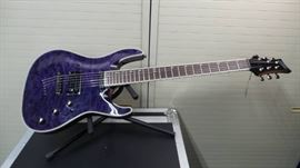 Mitchell MD400 Purple Electric Guitar