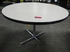 Round Laminate Top Table 48 Dia