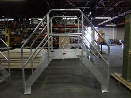 Bustin Aluminum Crossover Ladders..