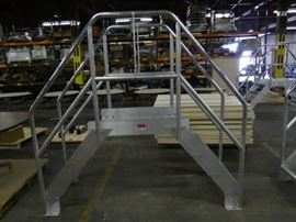 Bustin Aluminum Crossover Ladders.