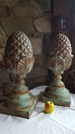 """Pineapple"" architectural element / salvage / decor"