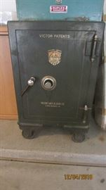 Victor safe, we have combo and key