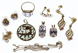 10k Gold Jewelry Assortment