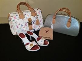 Louis Vuitton handbags and shoes