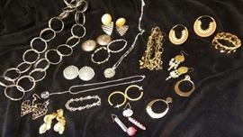 Costume Earrings and Necklaces