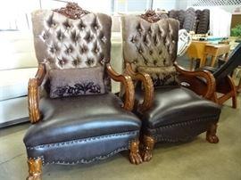 Matching Ornate Chairs