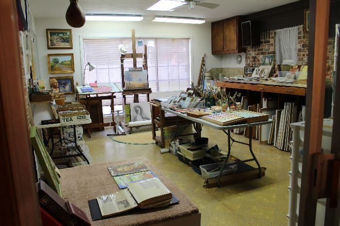 Artist Haven, Shirley LaPlante's Art Studio