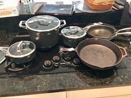 Lots of good kitchen equipment!