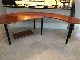 Amazing desk - incredible finish!  Come see it to appreciate it!