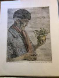 Paul Geissler etching