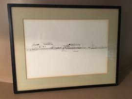Provincetown drawing