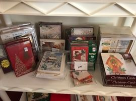 Tons of unopened Christmas cards