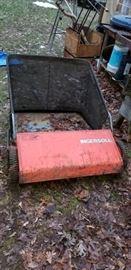 Ingersoll Lawn Sweeper