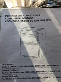 portable  air conditioner  have a few different ones