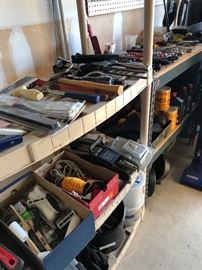 tools  and hh -garage items
