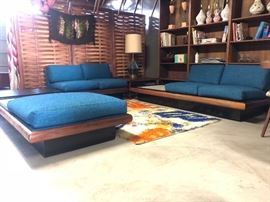 adrian Pearsall for craft associates three piece sectional