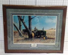 "John Deere ""The Last Load"" 36/96. Steve Carter model b tractor https://ctbids.com/#!/description/share/81970"