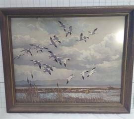 Flying geese framed print https://ctbids.com/#!/description/share/81967