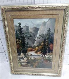 River and mountain framed art https://ctbids.com/#!/description/share/81966