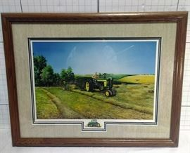 """John Deere """"First Cutting"""" Steve Carter # 36/96 model 720 tractor https://ctbids.com/#!/description/share/81971"""