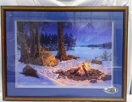 Winter Tracks by Darrell Bush number 60 / 999 https://ctbids.com/#!/description/share/81975