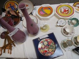 Misc Collection of Plates & Glassware