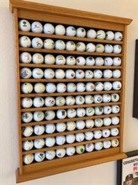 GOLF BALL COLLECTIONS FROM FAVORITE LINKS