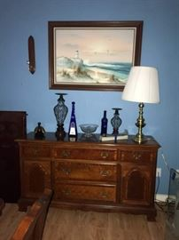 buffet and oil painting