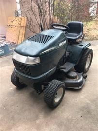 craftsman riding lawnmower