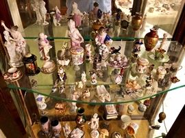 Sterling Miniatures, Trinket Boxes, Painted Porcelains & More