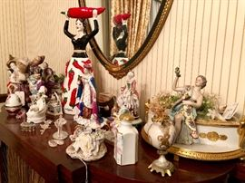 Porcelain from Germany, France, Italy, England & Beyond