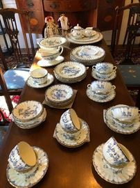 English Mansfield fine bone china