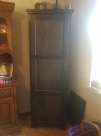 Brown Storage cabinet