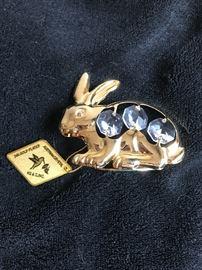24 karat gold plated with Australian Krystal