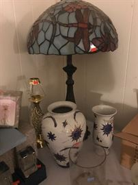 Dragonfly Tiffany lamp